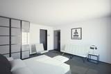 Modernistic Bedroom poster