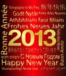 2013 - Happy New Year in Multiple languages