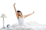 Fototapety waking up woman