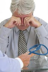 Senior déprimé - Consultation