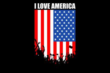 American People Cheering