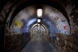 Fototapety abandoned tunnel