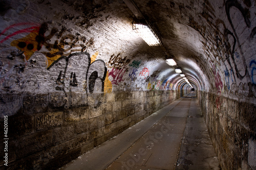 abandoned tunnel - 46200105