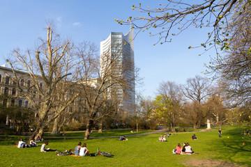 Frühling im Leipzig