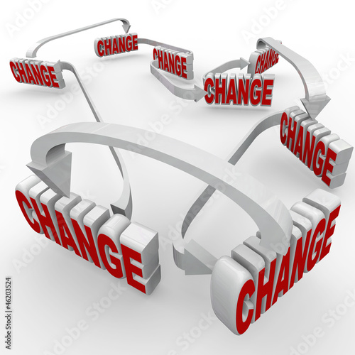 One Change Leads to Another Connected Changes Words