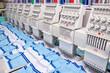 Leinwanddruck Bild - sewing industry equipment