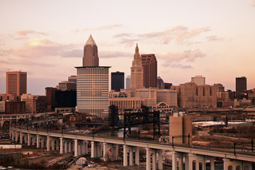 Cleveland - high angle view