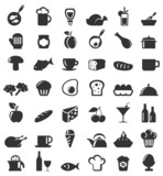 Fototapety Meal icons6