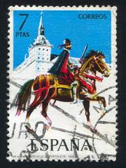 Mounted rifleman