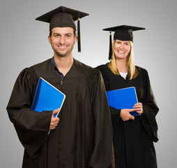 Male And Female Graduate Students