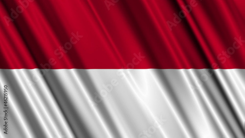 Indonesia Flag looping animation