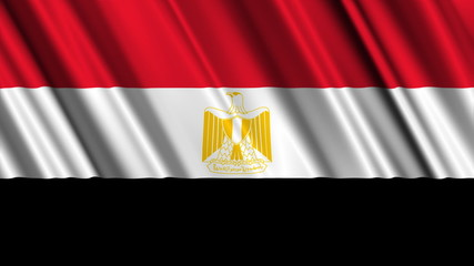 Egypt Flag looping animation
