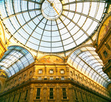 First shopping mall, Galleria Vittorio Emanuele II, Milan