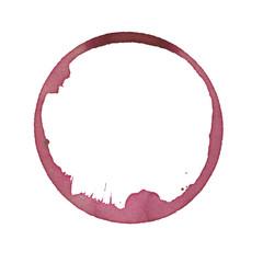 wine glass stain