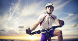 Adult Cyclist