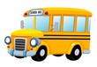 illustration of School bus vector