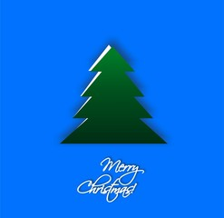 Сhristmas tree, design, vector