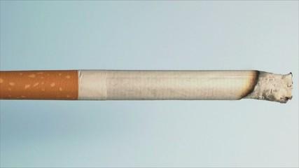 Zigarette im Zeitraffer