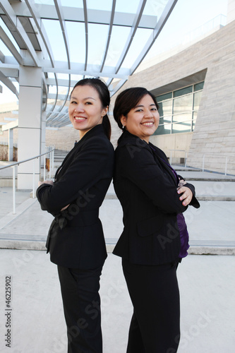 Ethnic Woman Business Team