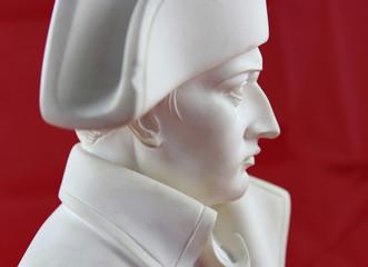 Sculpture portrait de profil Napoléon Bonaparte