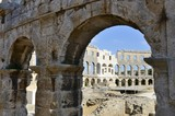 Roman amphitheater of Pula (Croatia)