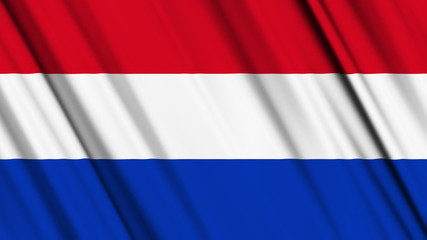 Netherlands Flag looping animation