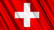 Switzerland Flag looping animation