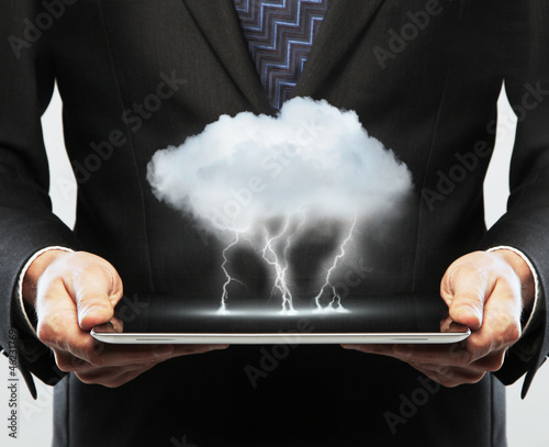 cloud in tablet