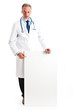 Doctor full length portrait