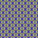 Seamless Neon Circular Cross