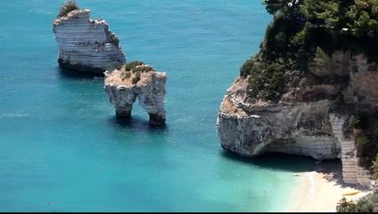 Baia delle Zagare (Puglia,Italia)