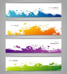 Vegetables colorful doodles set