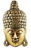 Buddha Maske gold