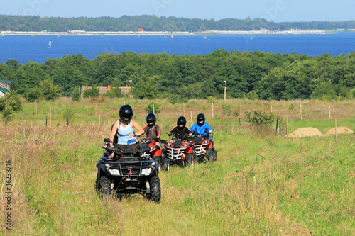 Buggy excursion at the seaside