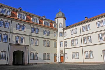 Innenhof Landgrafenschloss Rotenburg/Fulda (1470, Hessen)
