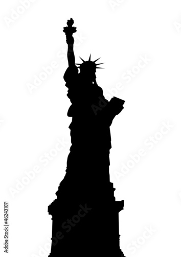 statue of liberty  . vector file