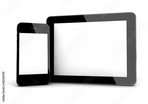 smart phone and tablet