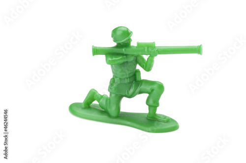 kneeling toy soldier