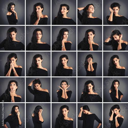 фото разные женские позы