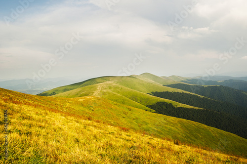 Summer mountains panorama