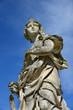 Skulptur in Schlosspark, Frankreich