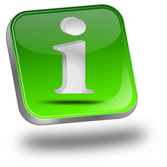 Button mit Information Symbol