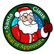 Santa Claus, Seal of Approval