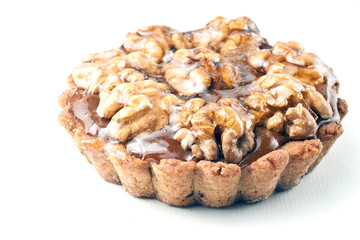 walnut sweetness with caramel