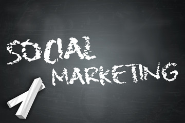"Blackboard ""Social Marketing"""