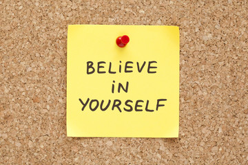 Sticky Believe In Yourself