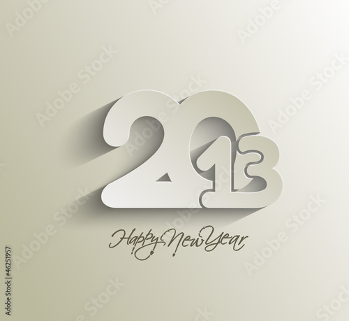 New year 2013 background. Vector illustration