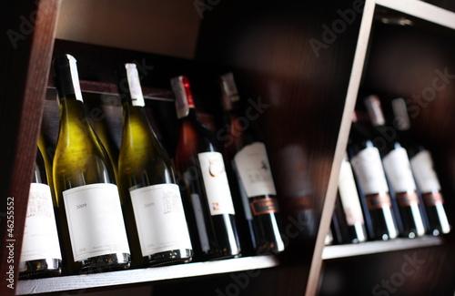 Foto op Aluminium Wijn Wine bottles.