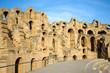 El Djem, Amphitheatre walls