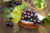 fresh grapes-International Food poster